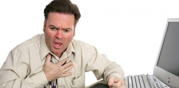 Gdy zawał serca ma miejsce w pracy